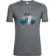 Icebreaker Sphere Van Surf Life - T-shirt manches courtes Homme - gris